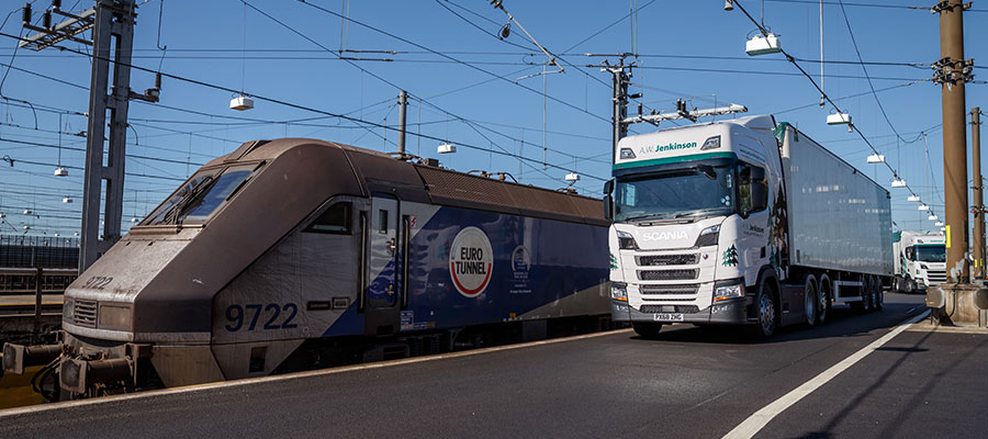 AWJ Transport Euro Tunnel